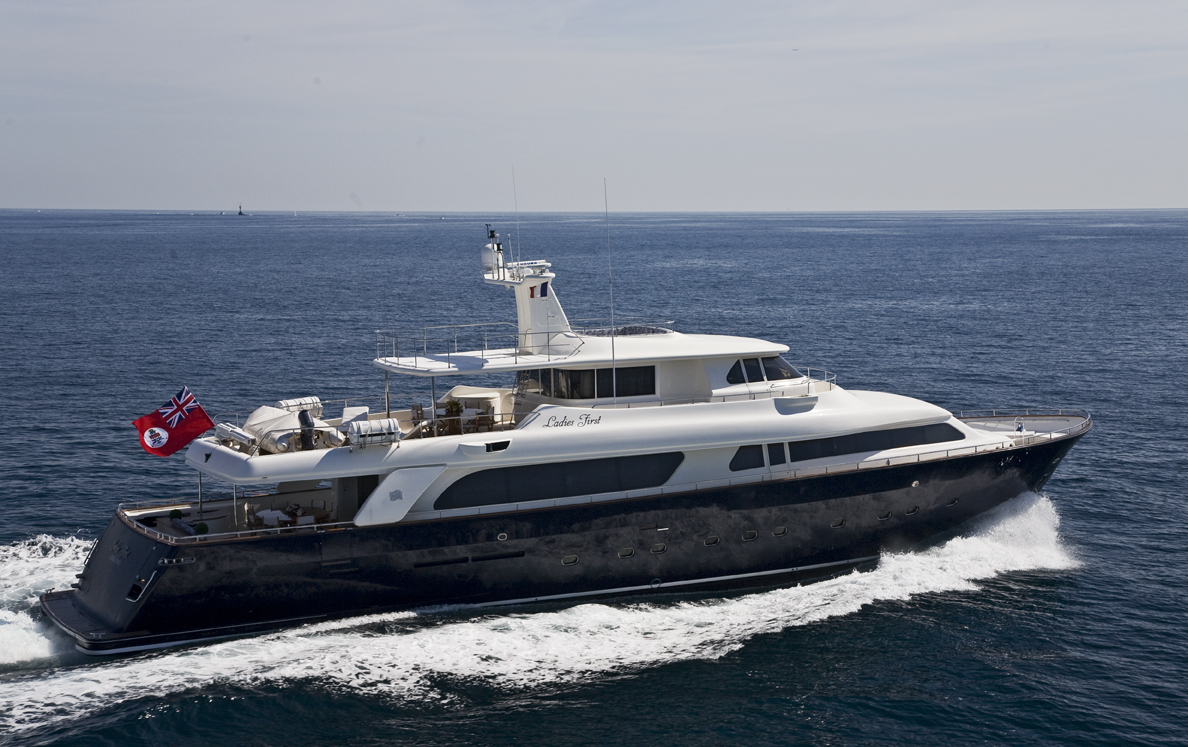 CORSICA - YACHTS FOR CHARTER - MOTOR YACHTS 80 ft to 110 ft